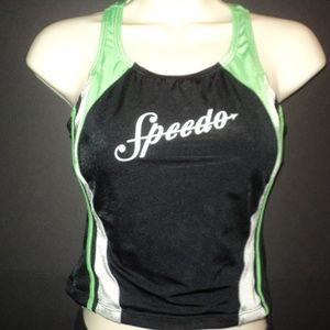 Speedo Swim - Speedo Girls Sz 16 Two Piece Swimsuit Cracked Logo